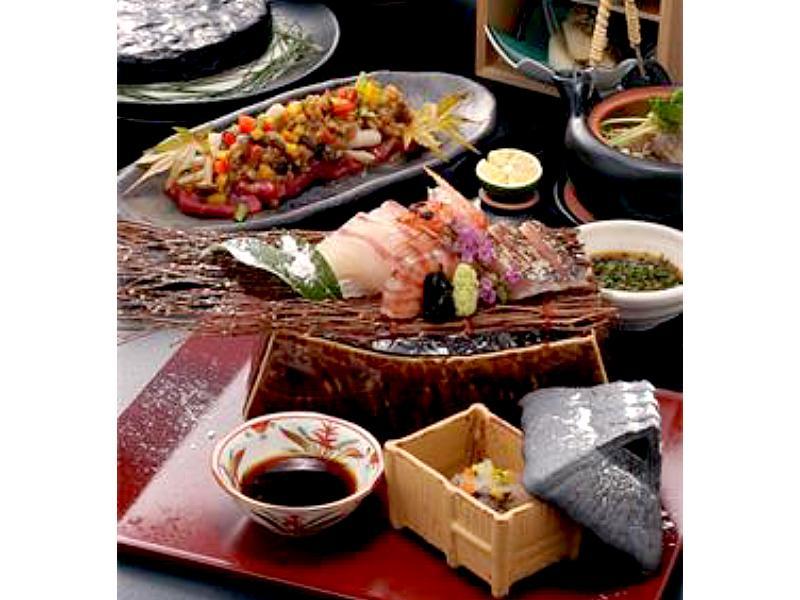 ◆海と山の幸料理