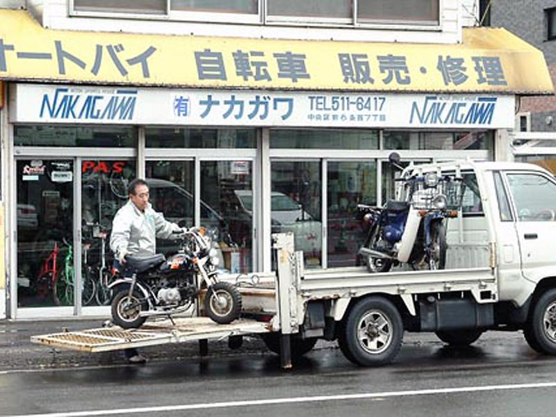リフト付き運搬車(引き取り有料)