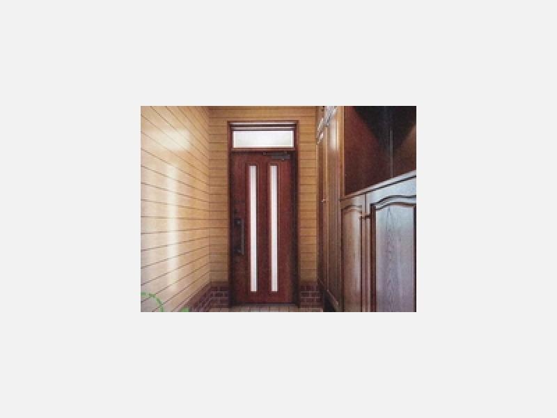 明るく爽やかで、防犯効果の高い快適な玄関へ