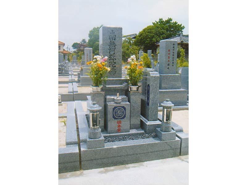 野尻共同墓地にて