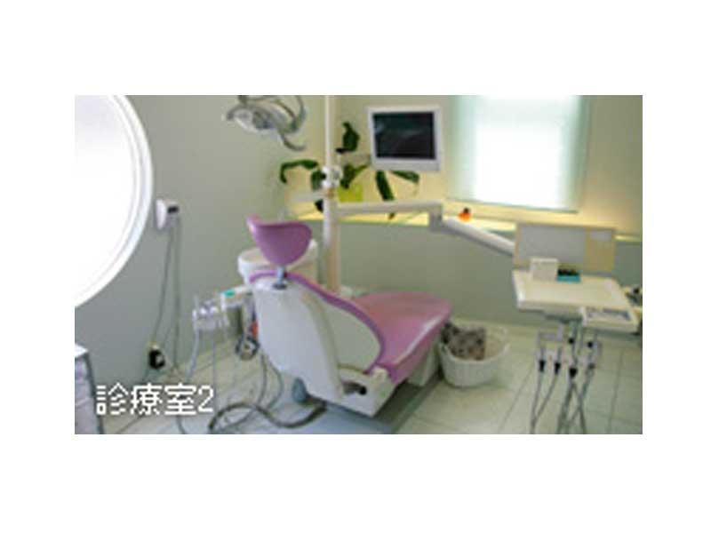 個室でリラックスできる診療室