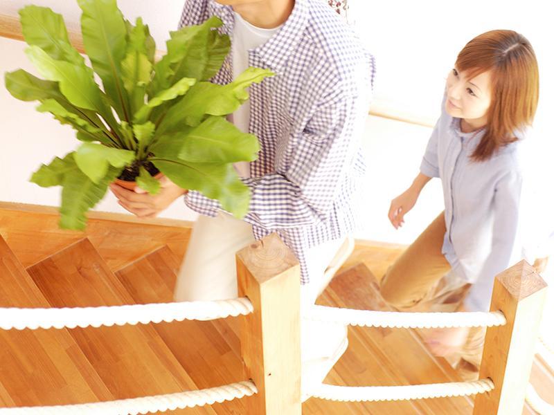 家族全員に優しいゆるやかな階段