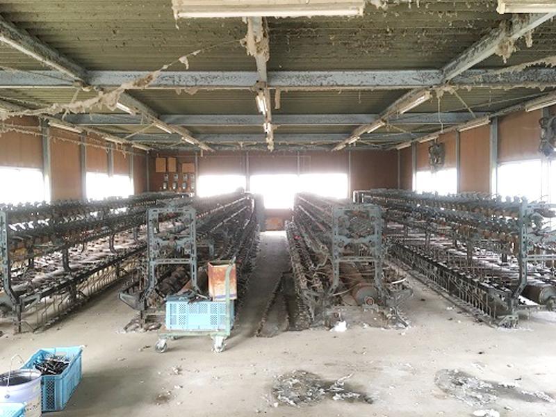 機械類の撤去
