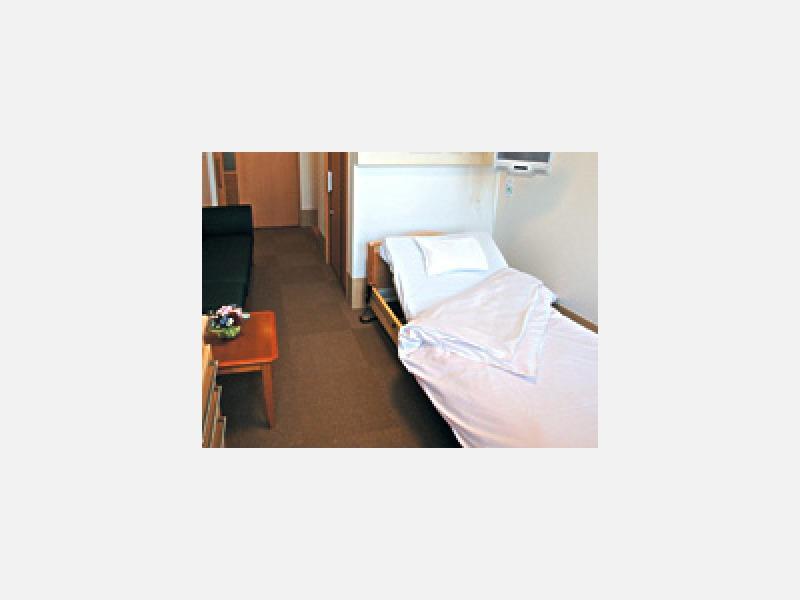 リハビリ機器としても使用できる北欧製のベッド