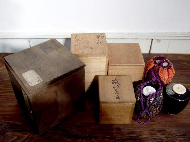 茶道具、蔵の整理品、高価買取。