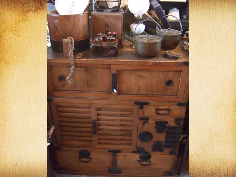 骨董箪笥、家具古道具 無料出張買取り
