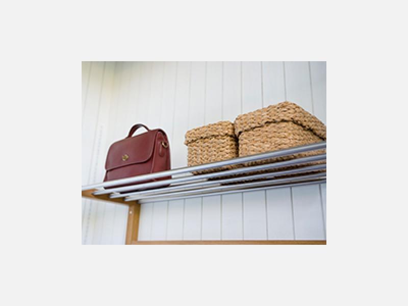 収納家具の設置、手すり付け