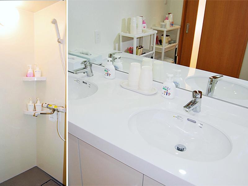シャワー室・洗面室