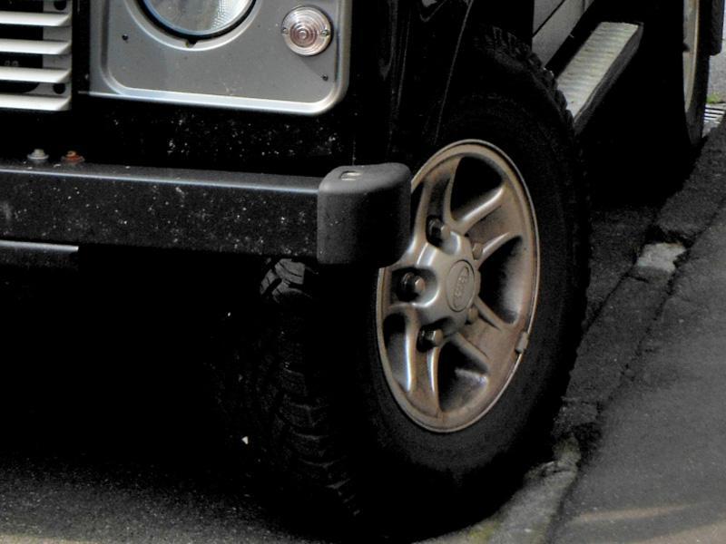 四輪オフロード車のフレーム修理