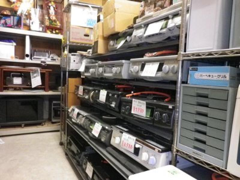 人気の家電・オーディオ用品も販売中のリサイクルショップ