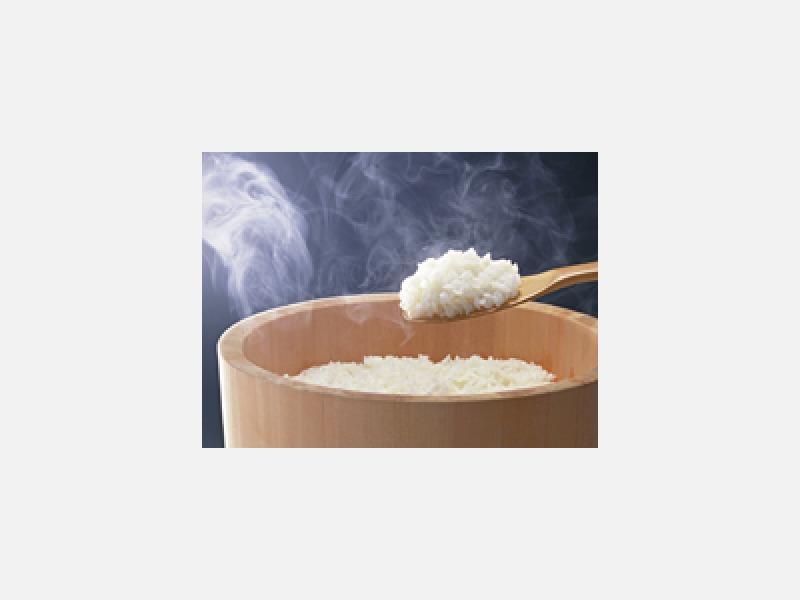 米はもちろん魚沼産コシヒカリです。