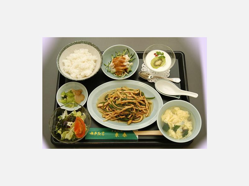 *B定食(チンジャオロース)…1,480円~