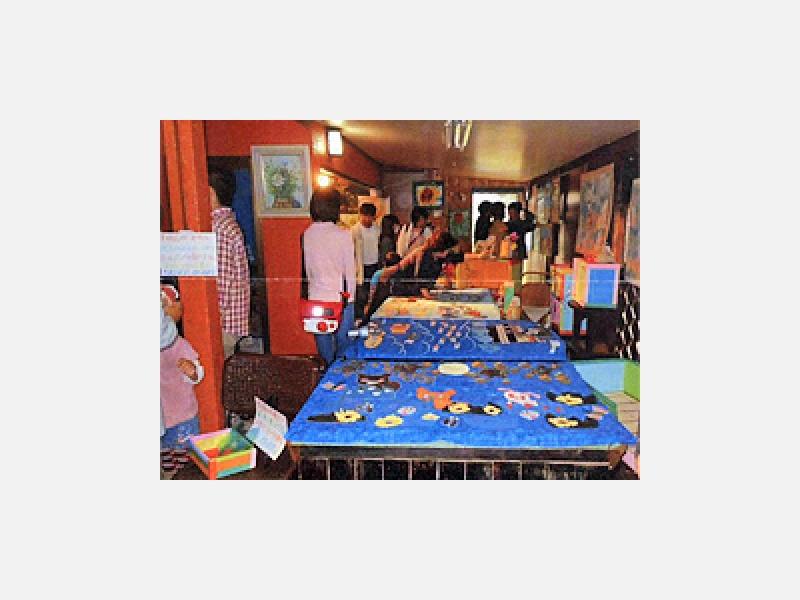 ○障害児、親子の文化祭作品