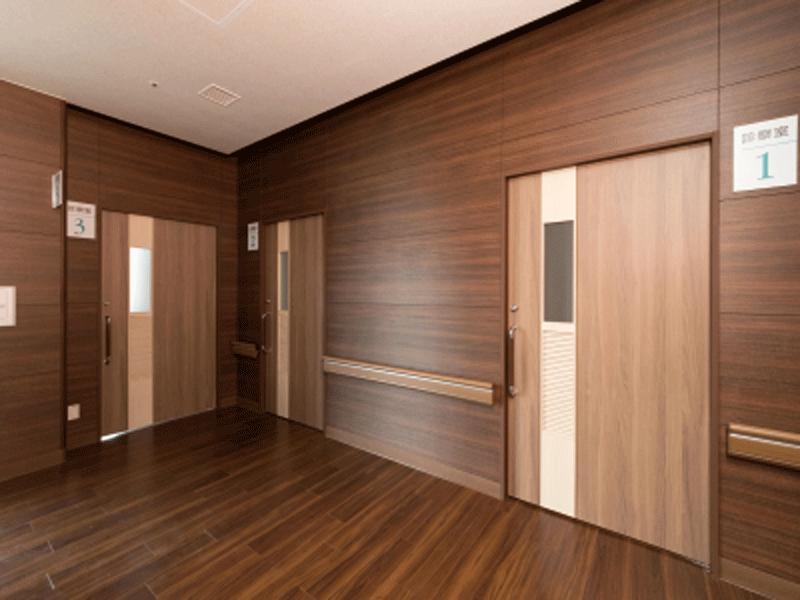 診察室は、個室でプライバシーに配慮しております。