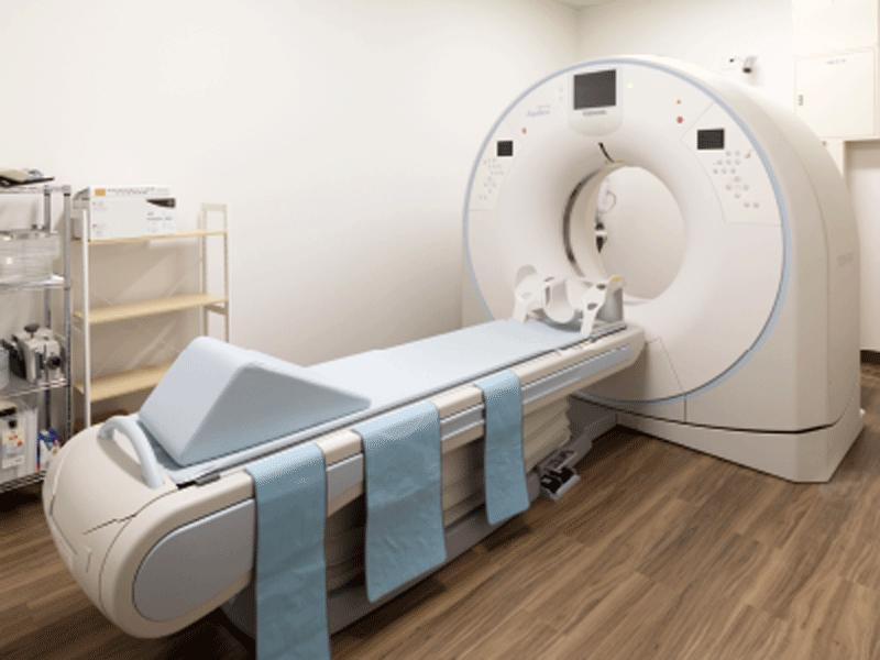 マルチスライスCTでより鮮明なデジタル画像で診断を行います。