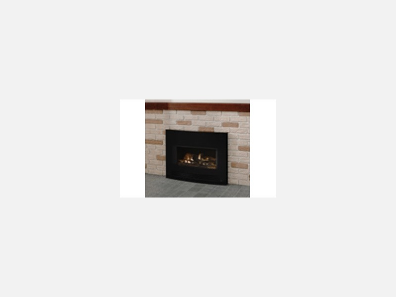 炎の揺らぎが上質の時間を演出「ガス暖炉」