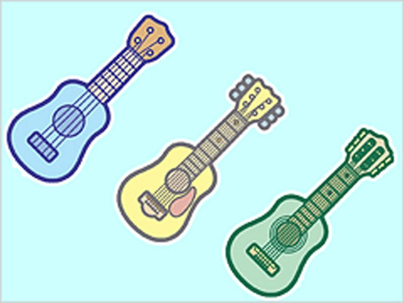子供から大人まで楽しめるギター教室です
