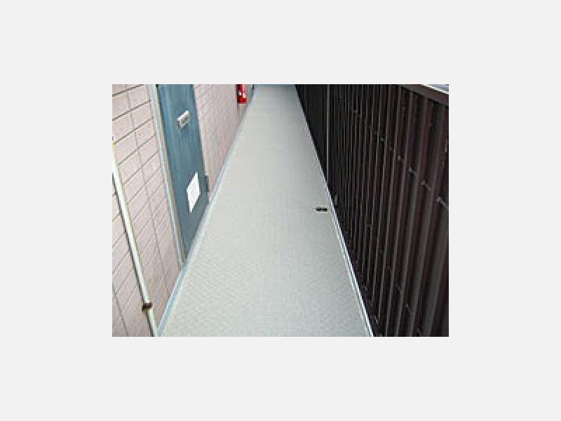 マンション・アパート等の廊下 長尺シート
